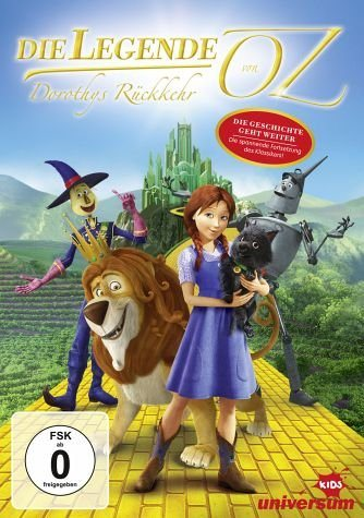 DVD »Die Legende von Oz - Dorothys Rückkehr«