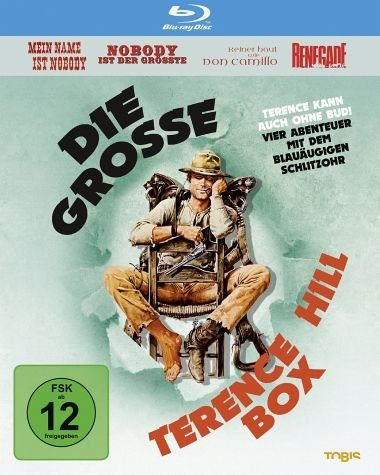 Blu-ray »Die große Terence Hill Box (4 Discs)«