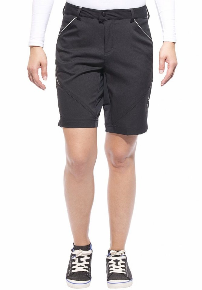 Craft Radhose »Escape Shorts Women« in schwarz