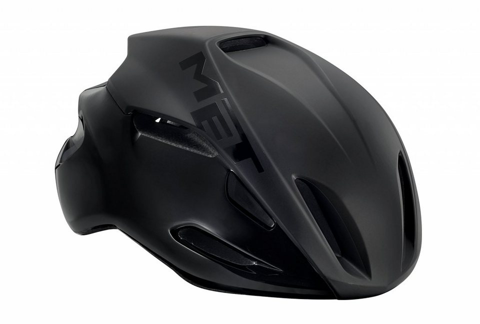 MET Fahrradhelm »Manta Hel« in schwarz