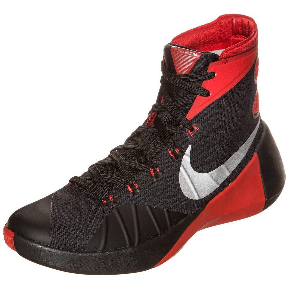 NIKE Hyperdunk 2015 Basketballschuh Herren in schwarz / rot