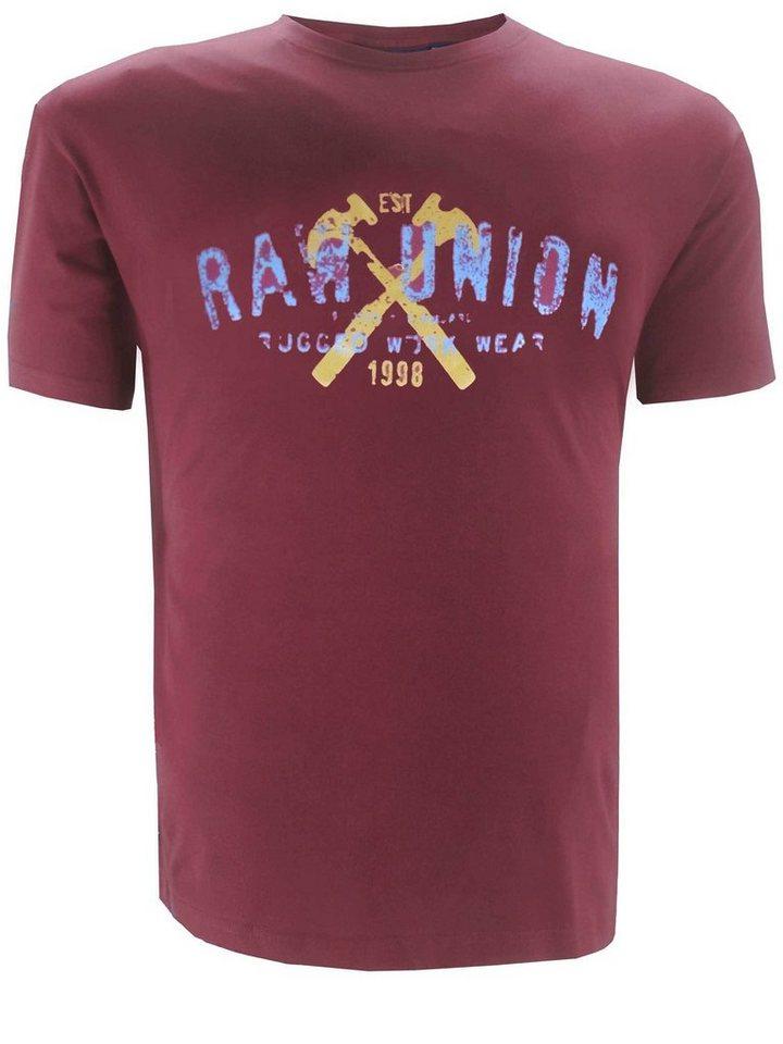 replika T-Shirt in Rot