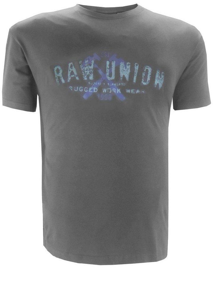 replika T-Shirt in Grau