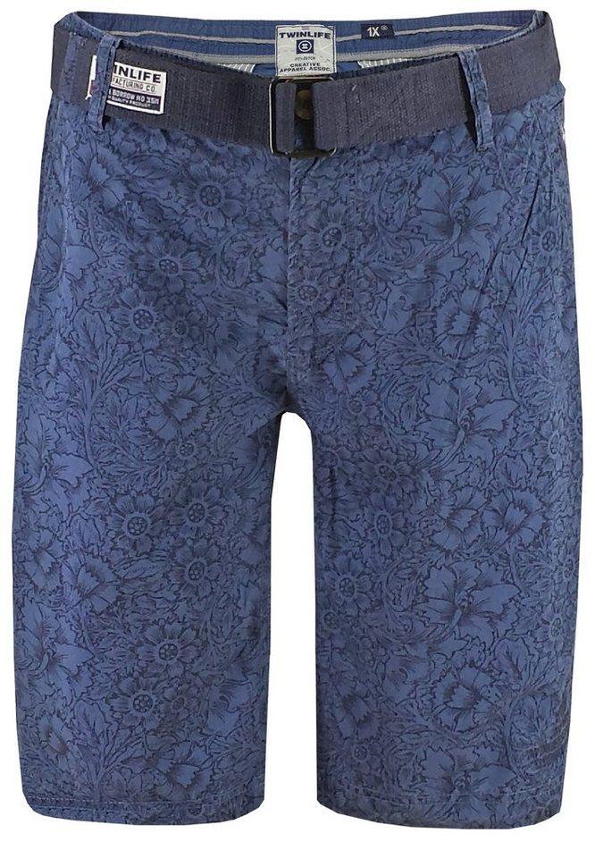 twinlife Shorts in Blau