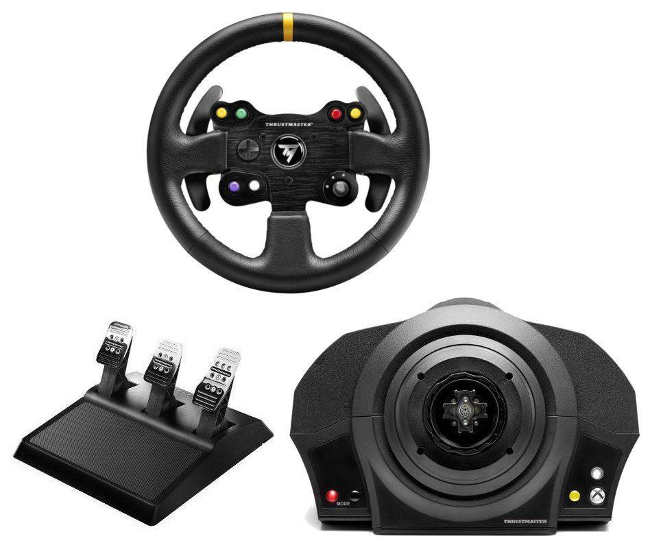 Thrustmaster Lenkrad Bundle TX Servo Base inkl.Pedalset und GT Wheel Add-On »(XBox One PC)«