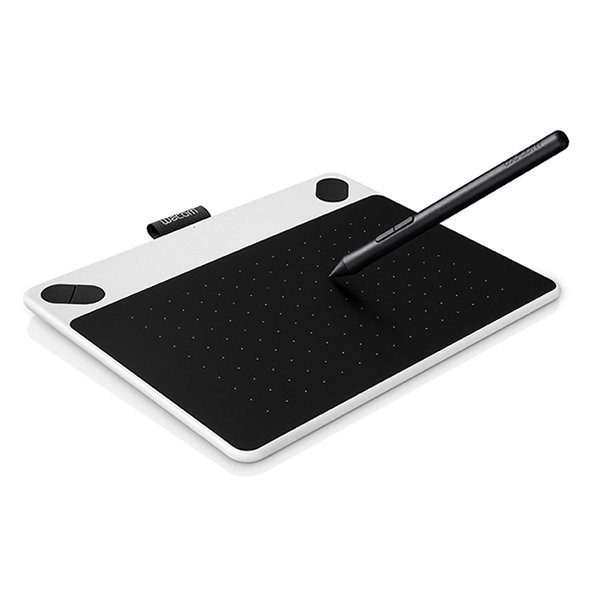 Wacom Stift-/Touchtablet »INTUOS DRAW WHITE «