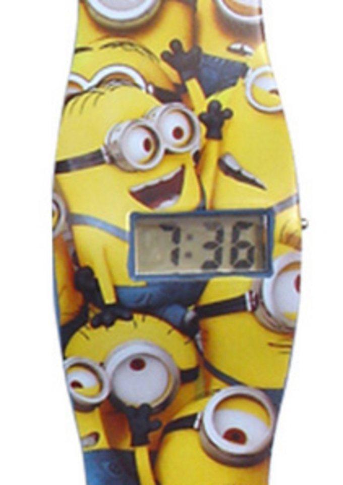 "Minions, Armbanduhr, ""90495"" in gelb"