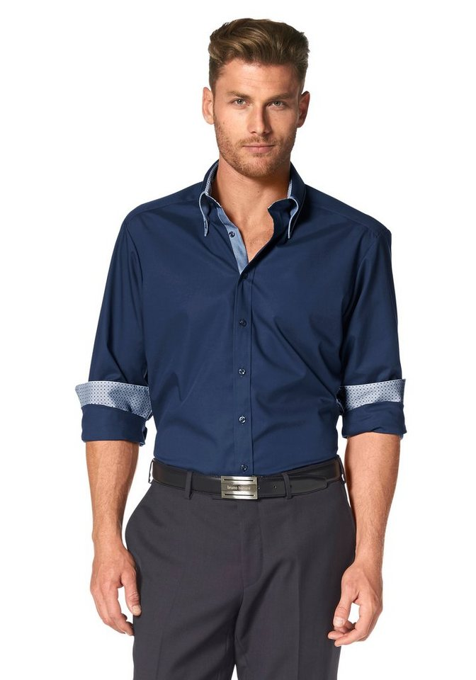 Bruno Banani Businesshemd in marine