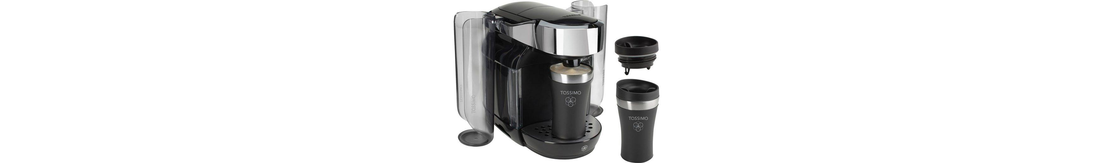Bosch/Tassimo CADDY Multigetränkesystem TAS7002DE1, inkl 2 Travel Mugs im Wert von 20€ UVP