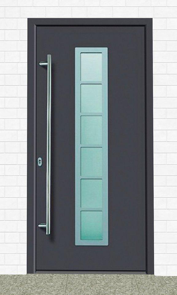 KM MEETH ZAUN GMBH Aluminium-Haustür »A04«, BxH: 108x208 cm ...