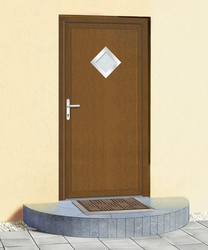 Mehrzweck-Haustür »KT32« BxH: 98 x 198 cm, goldeichefarben in goldeichefarben