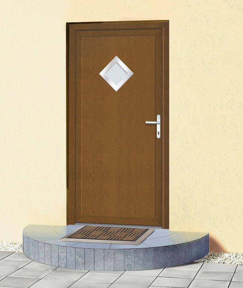 Mehrzweck-Haustür KT32« B x H: 98 x 208 cm, goldeichefarben in goldeichefarben