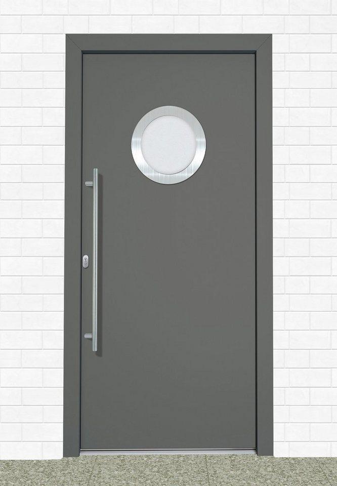 Roro Kunststoff-Haustür »A908« BxH: 110 x 210 cm, anthrazit/weiß in anthrazit