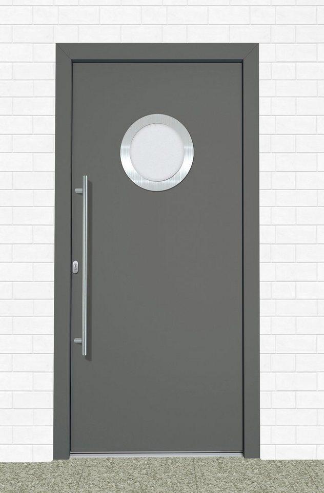 Roro Kunststoff-Haustür »A908« BxH: 100 x 200 cm, anthrazit/weiß in anthrazit