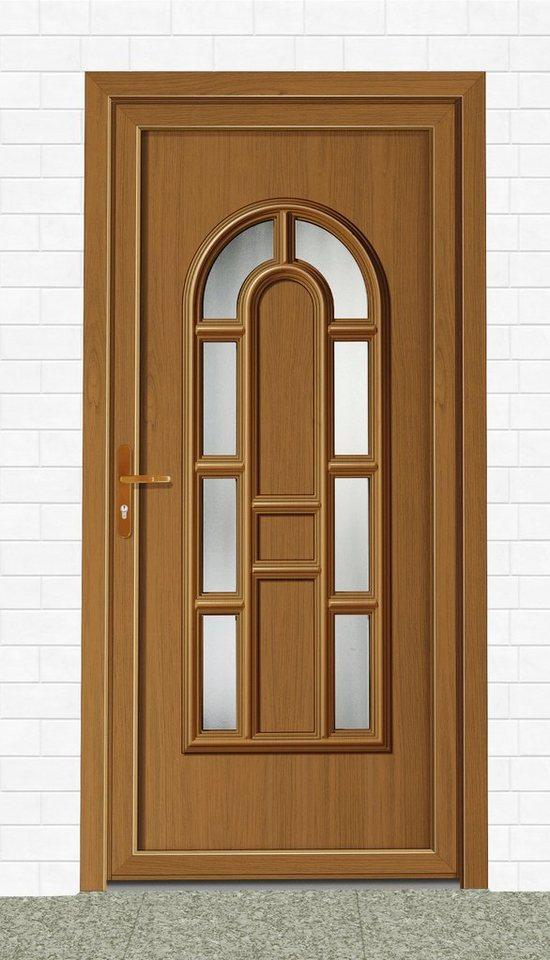roro kunststoff haust r england t r nach ma eichefarben dunkel online kaufen otto. Black Bedroom Furniture Sets. Home Design Ideas
