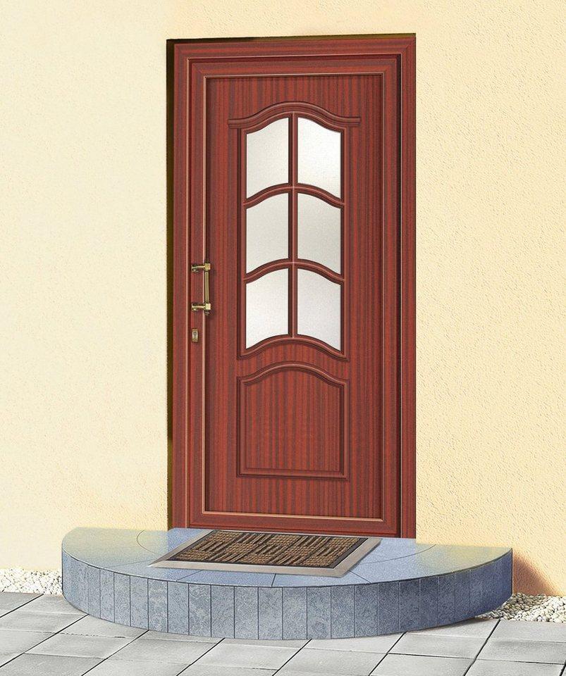 kunststoff haust r paris bxh 110 x 210 cm mahagoni online kaufen otto. Black Bedroom Furniture Sets. Home Design Ideas