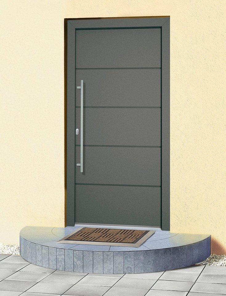 RORO Aluminium-Haustür »Schweiz«, nach Wunschmaß, Anschlag rechts ...