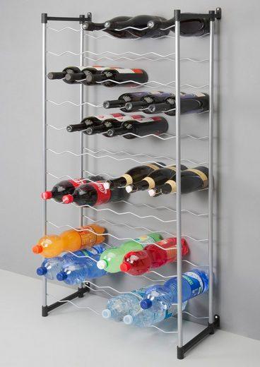 Metaltex Flaschenregal »Bardolino«, für bis zu 72 Flaschen