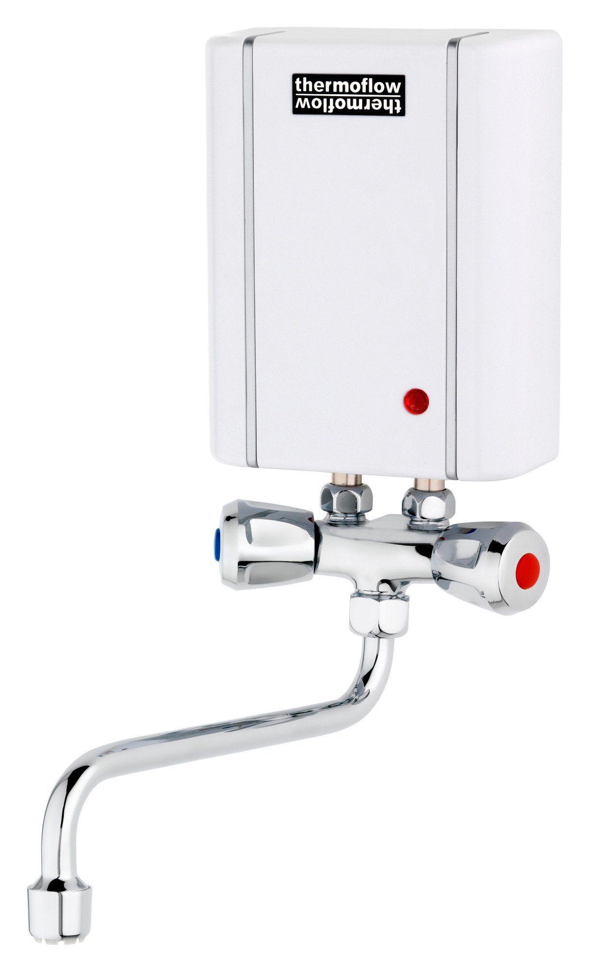 RESPEKTA : Kleindurchlauferhitzer »Thermoflow Elex 3,5«, mit Armatur | Baumarkt > Heizung und Klima > Durchlauferhitzer | RESPEKTA