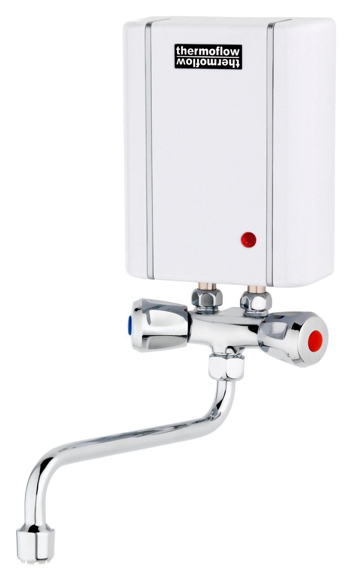 Kleindurchlauferhitzer »Thermoflow Elex 3,5«, mit Armatur