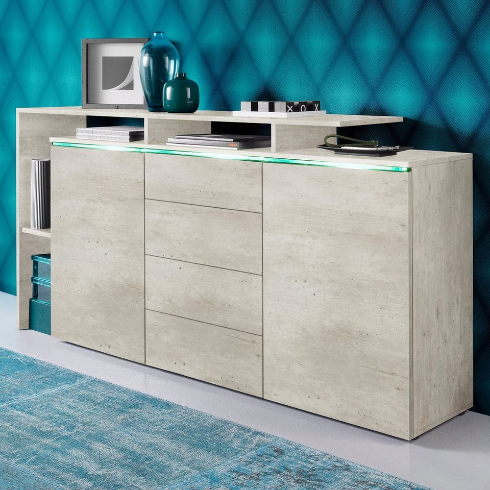 borchardt möbel sideboard, breite 160 cm kaufen | otto