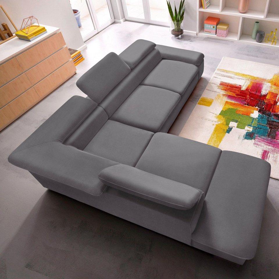 sit&more Polsterecke, wahlweise mit Bettfunktion | OTTO