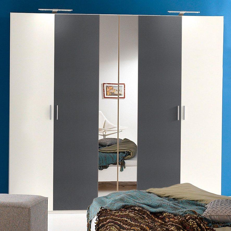 wimex kleiderschrank ilona breite 225 cm mit 4 t ren. Black Bedroom Furniture Sets. Home Design Ideas