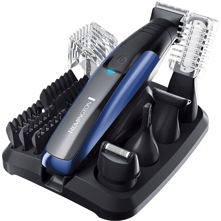 Remington, Personal Groomer Set, PG6160, Lithium GroomKit in schwarz/blau