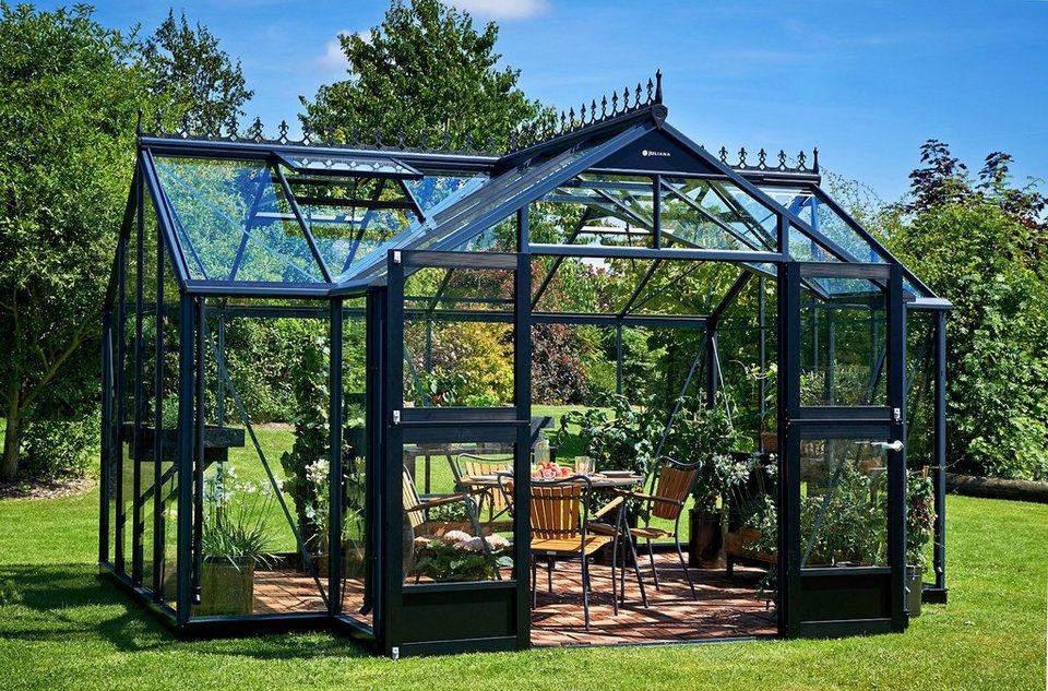 Gewächshaus »Orangerie«, BxT: 439x296 cm, anthrazit in anthrazit