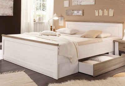 Metallbett weiß 100x200  Bett 100x200 cm online kaufen » Bettgestell | OTTO