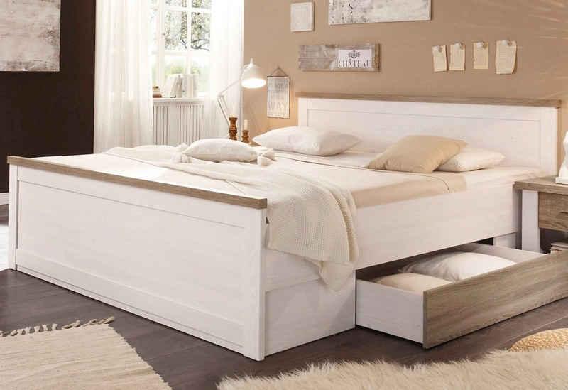 Schlafkontor Bett »Luca«, inklusive Schubkasten