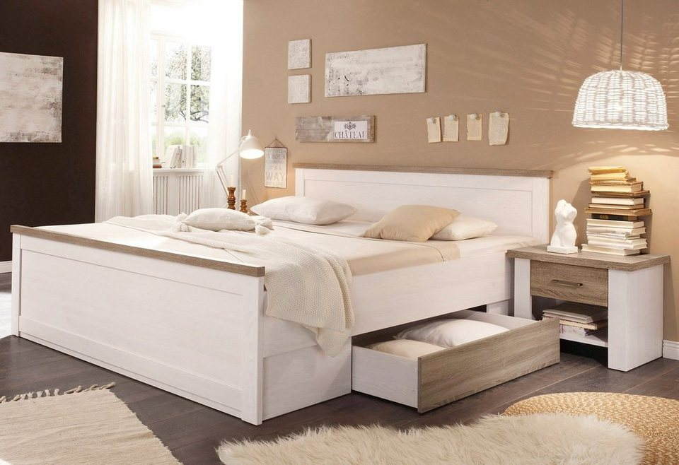 holzbett ideen sch ne bilder inspiration otto. Black Bedroom Furniture Sets. Home Design Ideas