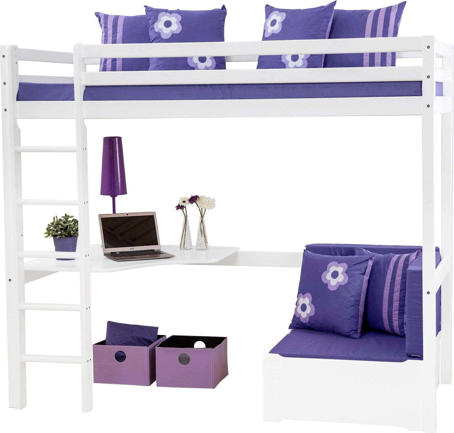 Hochbett, Hoppekids, »Purple Flower«