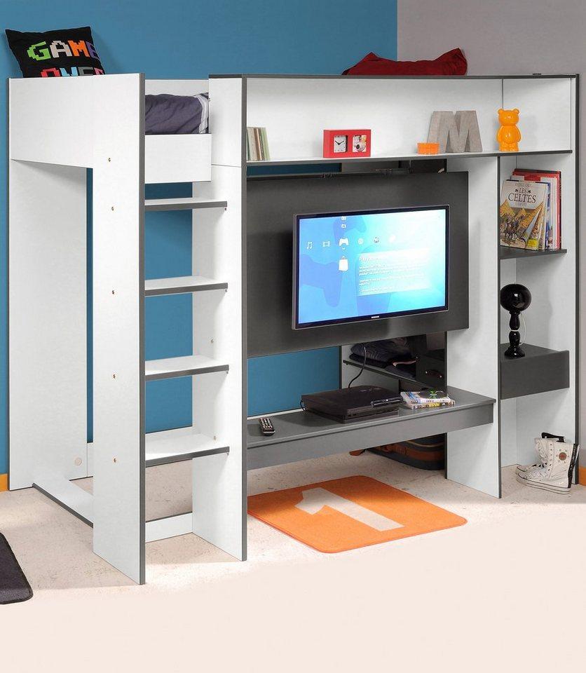 parisot hochbett hashtag online kaufen otto. Black Bedroom Furniture Sets. Home Design Ideas
