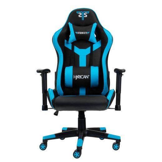 Hyrican Gaming-Stuhl »Hyrican Striker Copilot Gaming Stuhl, Kunstleder, 2D-Armlehnen, Stahlrahmen, Bürostuhl«