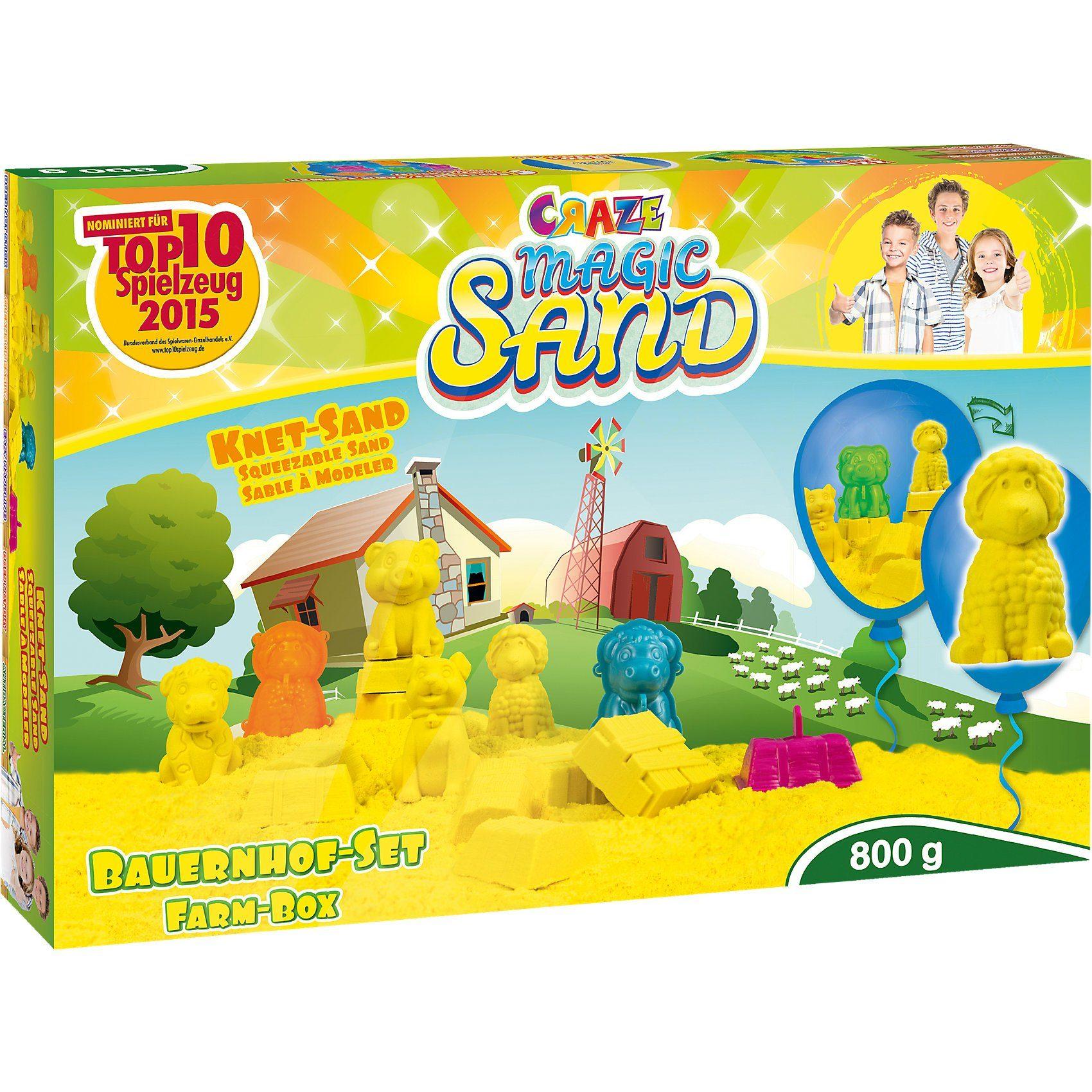 CRAZE Magic Sand Bauernhof-Set