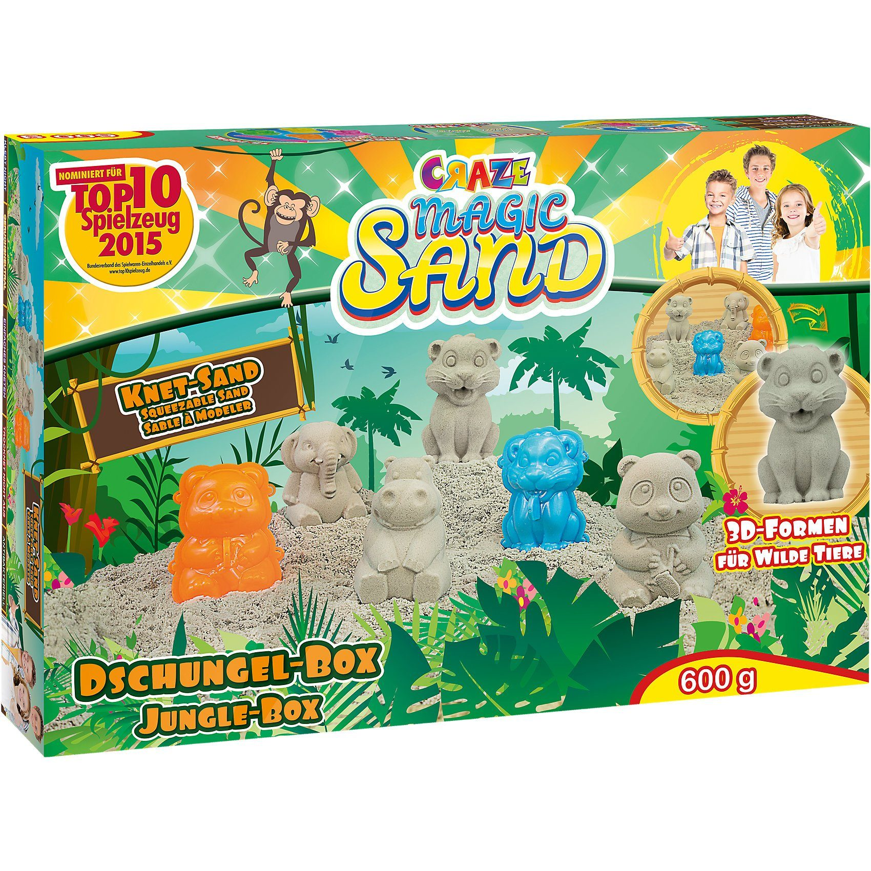 CRAZE Magic Sand Dschungel-Box
