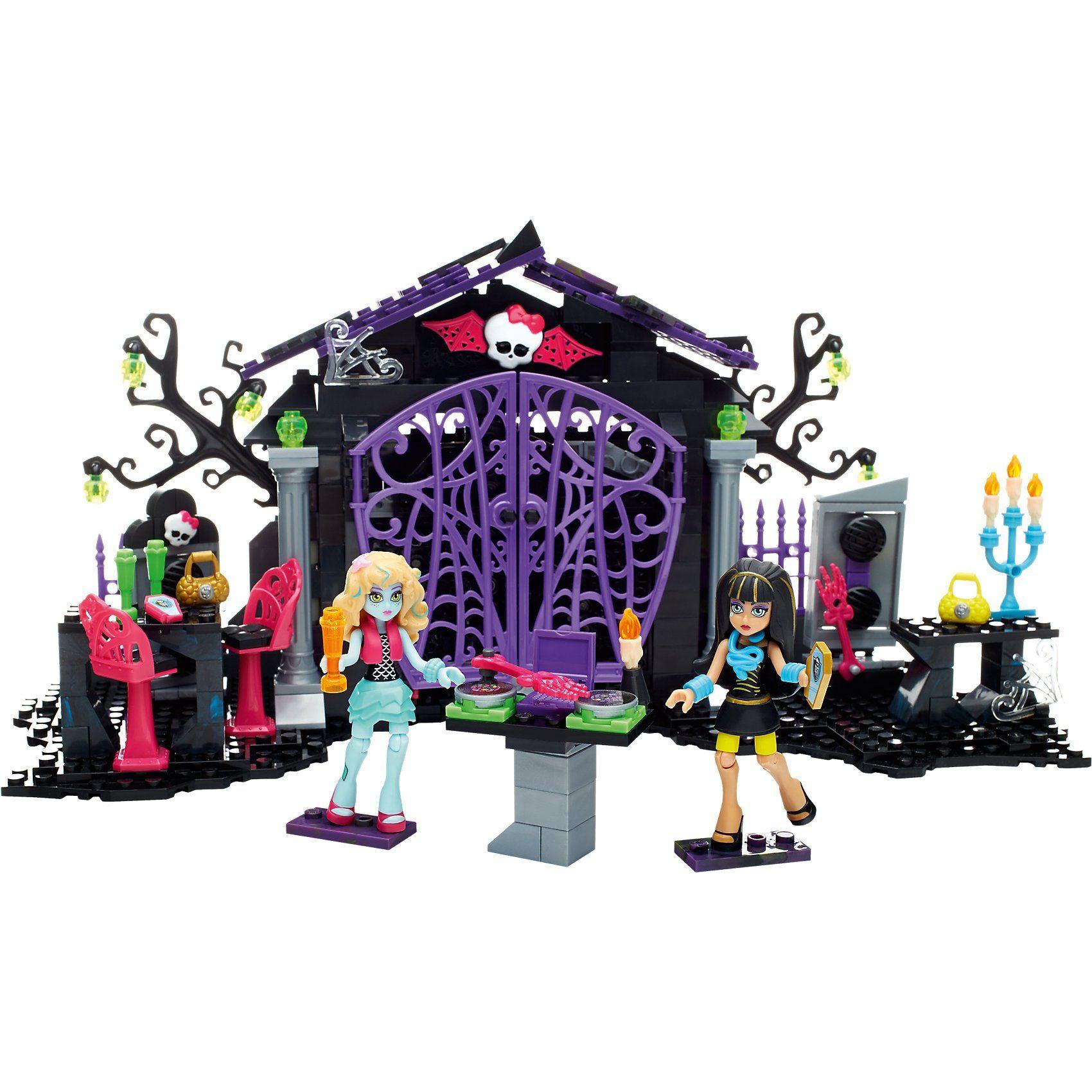 Mattel Mega Bloks Monster High - Friedhofstreff Set