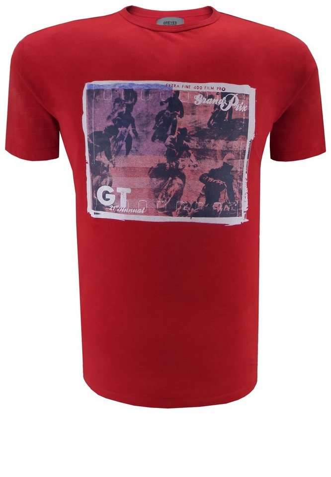 greyes T-Shirt in Rot