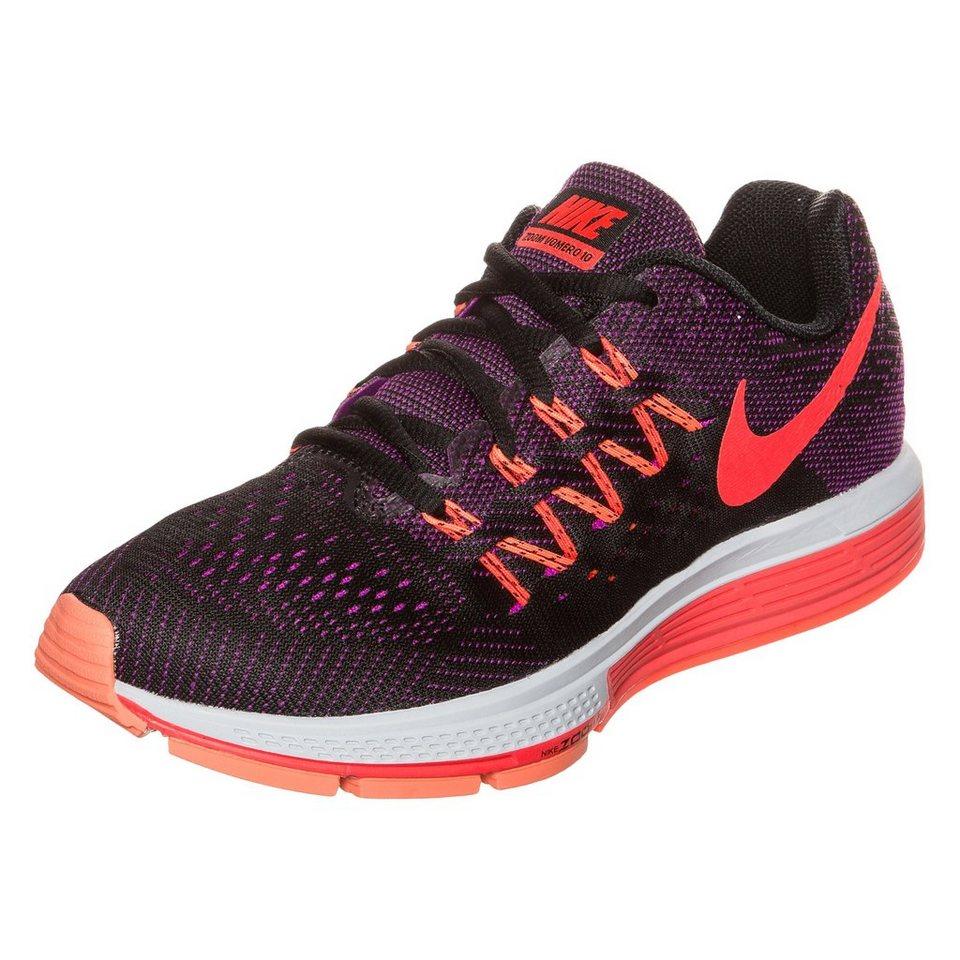 NIKE Air Zoom Vomero 10 Laufschuh Damen in lila / neonrot