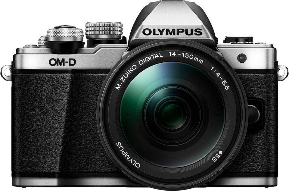 olympus e m10 om d kit 14 150mm ii system kamera m zuiko ed 14 150mm f4 0 5 6 ii zoom online. Black Bedroom Furniture Sets. Home Design Ideas