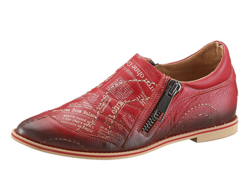 I´m walking Slipper in spitzer Form in rot used