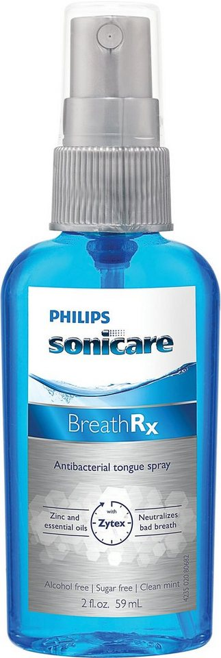 Philips, Zungenspray, Sonicare DIS640/03, TongueCare+ BreathRx in hellblau