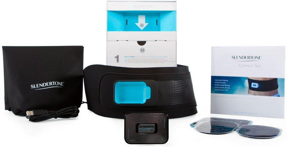 Slendertone, Bauchtrainer, Connect Abs, mit Elektro-Muskel-Stimulation in schwarz