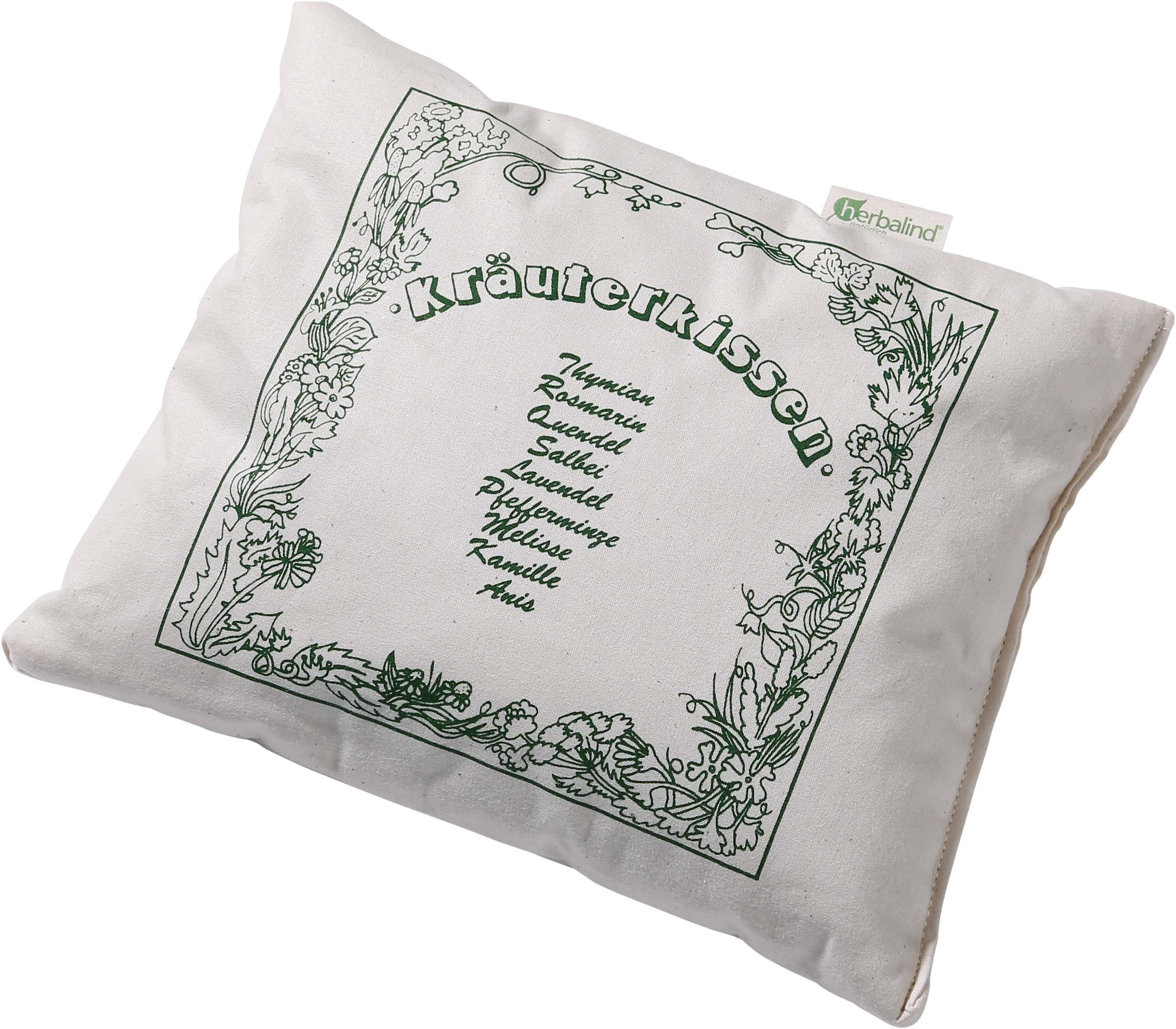 Kräuterkissen, »KRÄUTERTRAUM«, Herbalind