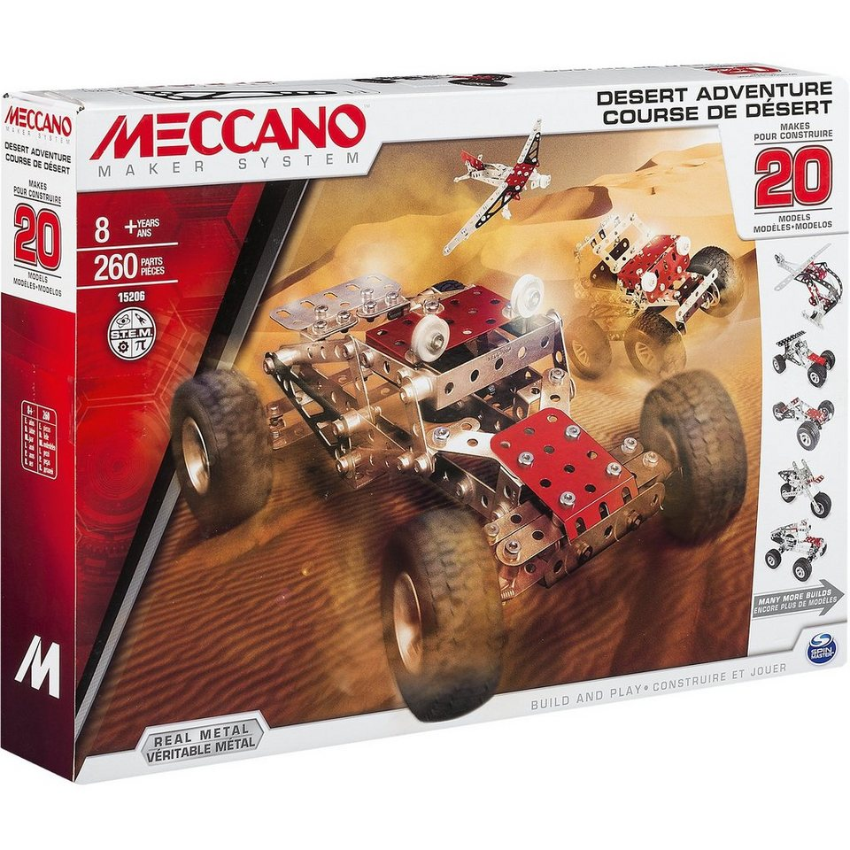 Meccano Desert Adventure (20 Modelle)