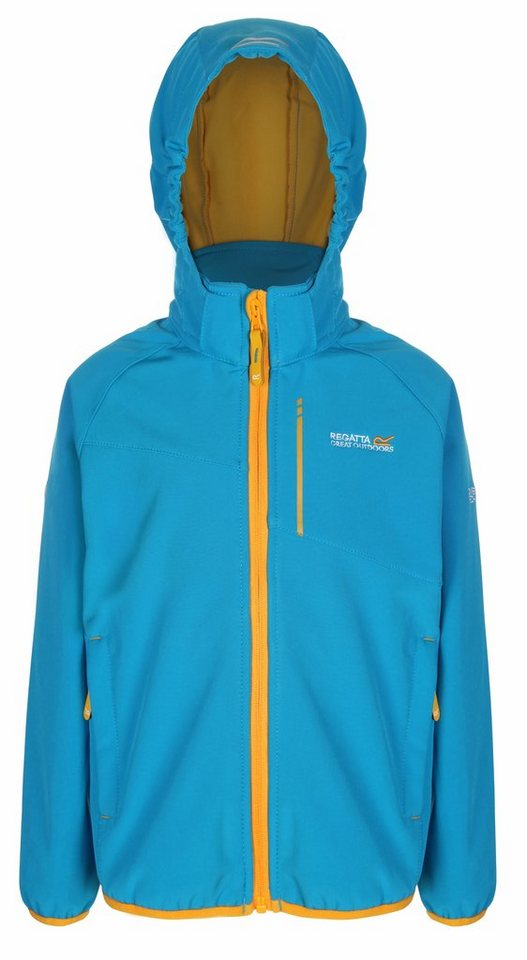 Regatta Outdoorjacke »Turbo Drop Kids« in blau
