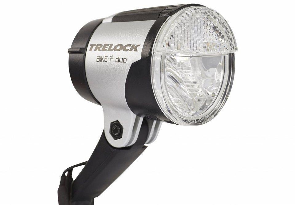 Trelock Fahrradbeleuchtung »LS 865 duo Frontscheinwerfer schwarz«