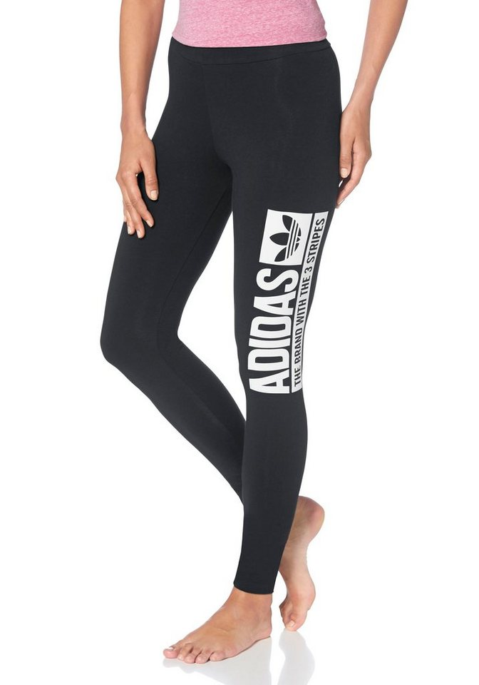 adidas Originals Leggings in Schwarz
