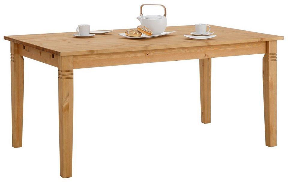 Tisch, Home affaire, wahlweise mit Schublade in gelaugt/geölt